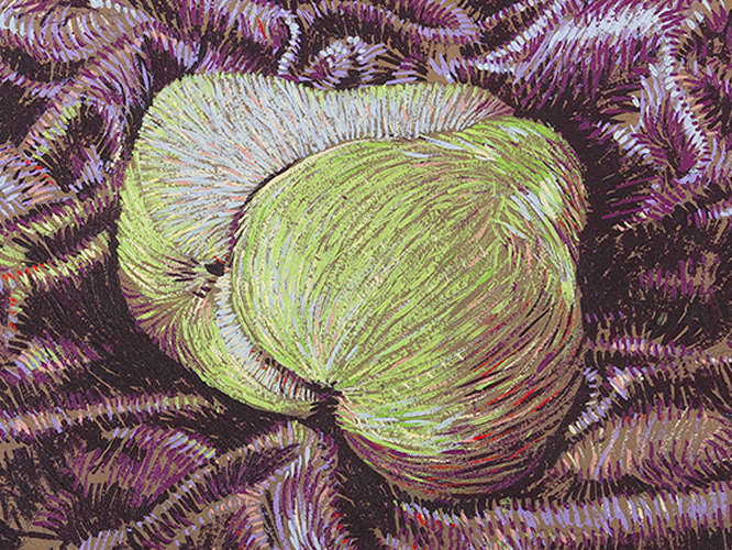 Thumb of Bisections Pear artwork by Tom Ferson